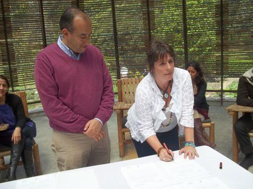 Bogotá signing