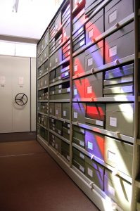 Basement of Kew's herbarium