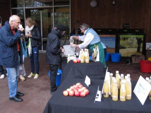 Juice tasting with Cuddybridge Apple Juice