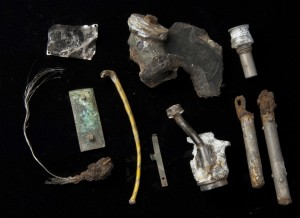 More pieces frin Spitfire X4560 found in 2010