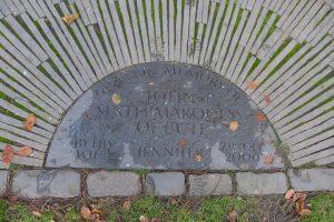 Bute Memorial Bench Inscription