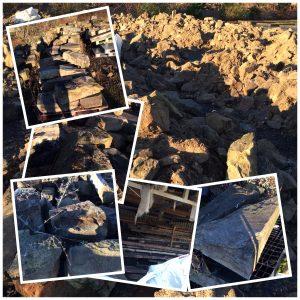 Stones collage