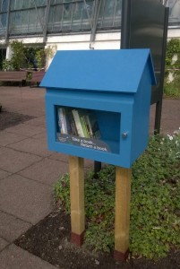 Our Little Free Library at the Botanics