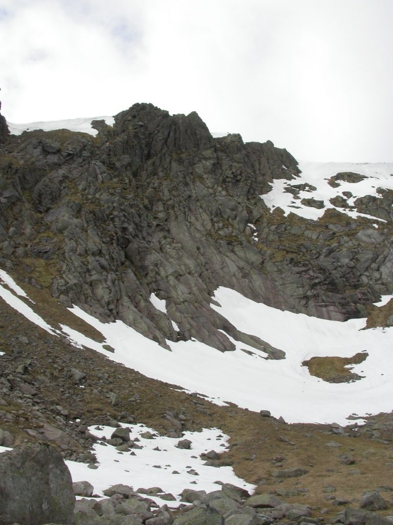 Snow-beds provide a specialised habitat for communities of lichens and bryophytes in Scotland's mountains.