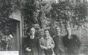 Te-Tsun Yu during his visit to RBGE between 1947-1950. From the RBGE library archive.