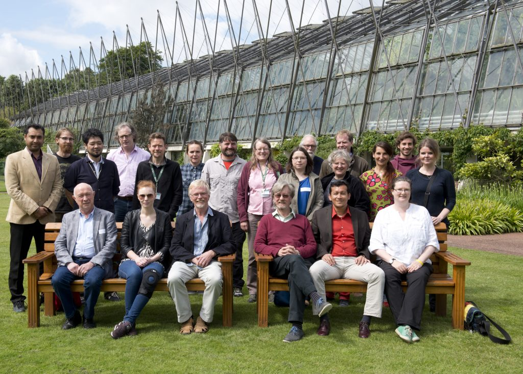 #Marchantia2015 Complex Thalloid symposium at RBGE