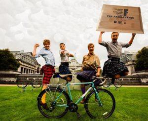 The HandleBards, winers of the Sustainable Practice Award 2014.