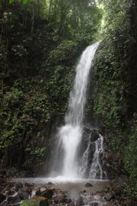 Waterfall near Lake Maninjau, West Sumatra