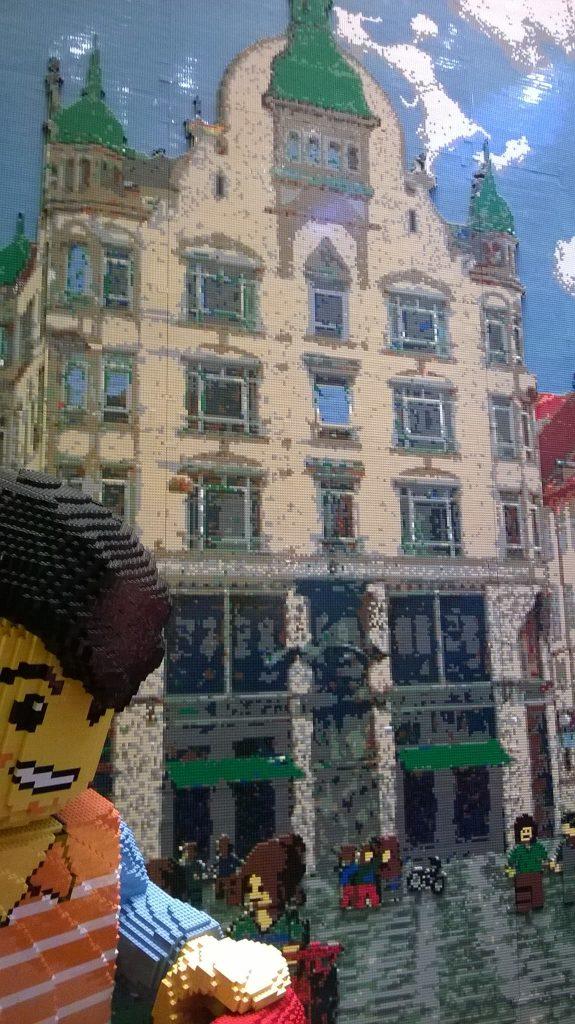 The Lego shop, Copenhagen