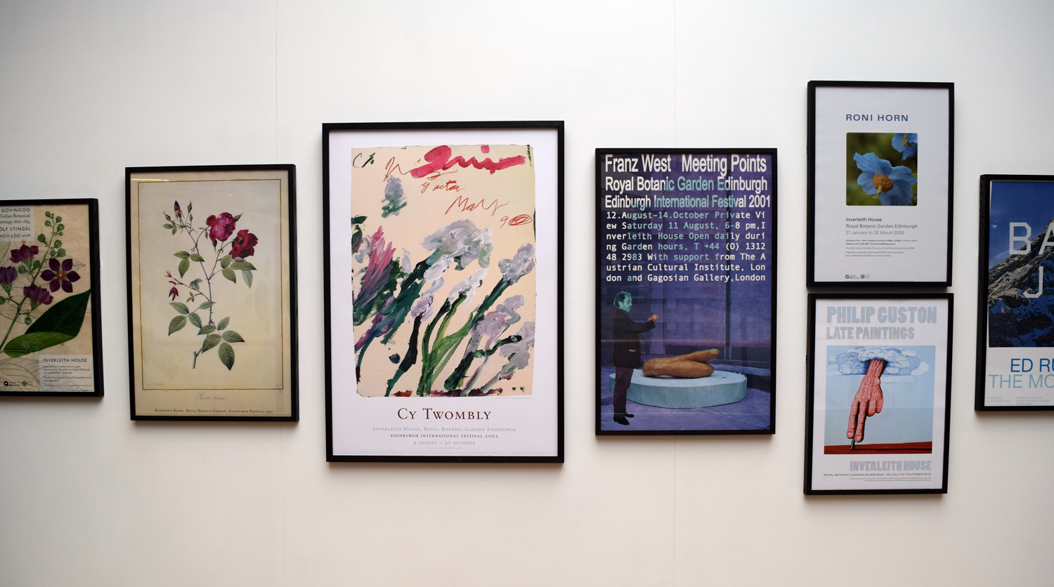 Inverleith House Poster Exhibition Begins 30th Anniversary