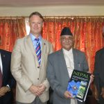 Meeting the Prime Minister of Nepal
