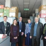 Visit by Dr Alexander Demidov & Ms Svetlana Potapova to the RBGE Herbarium March 2017