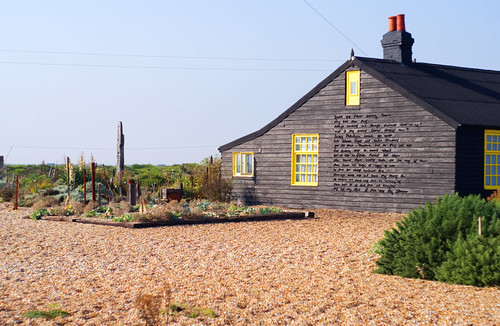 Photo of Derek Jarman's cottage in Kent