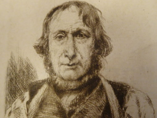 To show what the weaver botanist John Duncan from Aberdeenshire looked like in 1866 when he was aged 72
