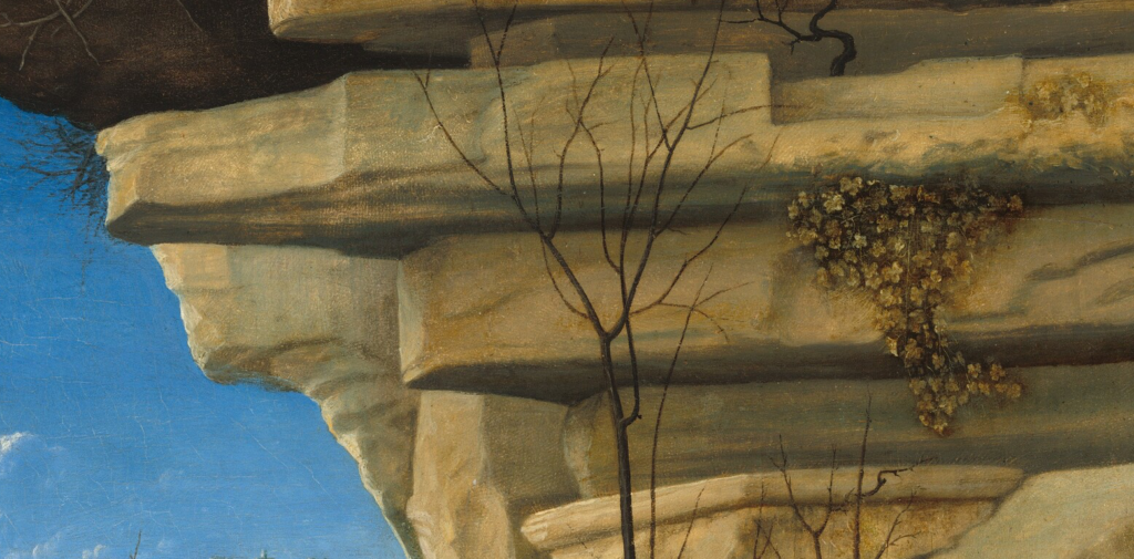 Detail of Painting of Saint Jerome reading